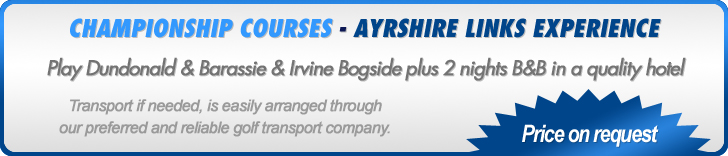Ayrshire Links Experience