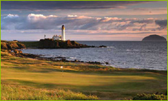 Ailsa Championship golf course at Turnberry